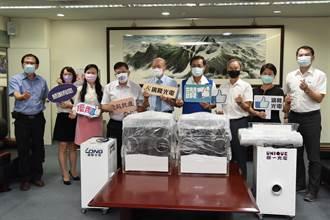 南投愛心企業廣隆與聯一光電公司 捐贈插管清淨機組
