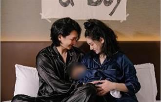 恭喜小蠻生男寶「邵翔變娃娃音」 苦笑:兒子頭太大