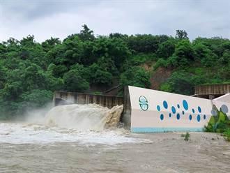 台南雨彈狂炸 南化水庫啟動防淤隧道排砂