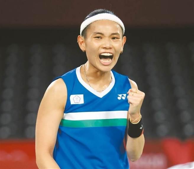 東京奧運羽球女子單打,中華隊選手戴資穎。(圖/本報資料照,季志翔攝)