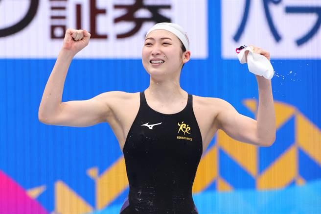 日本游泳女將池江璃花子抗癌成功,站上2020奧運舞台。(圖/達志)