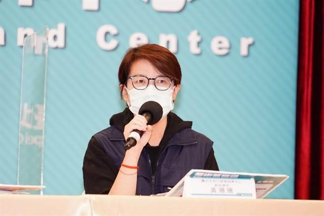 北市副市長黃珊珊表示,個案15789在萬華區漢中街小王子旅店,足跡跟案15774有關聯,是友人之間的互相傳染。(北市府提供/游念育台北傳真)