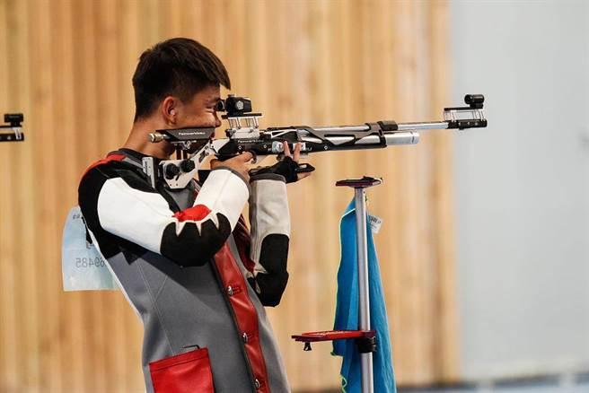 中國射擊運動員張常鴻。(鳳凰體育)