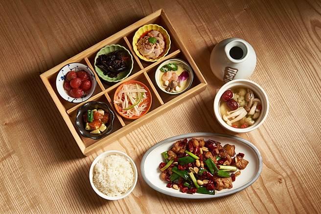 微風台北車站-小逸仙宮保雞丁個人獨享套餐。(微風提供)