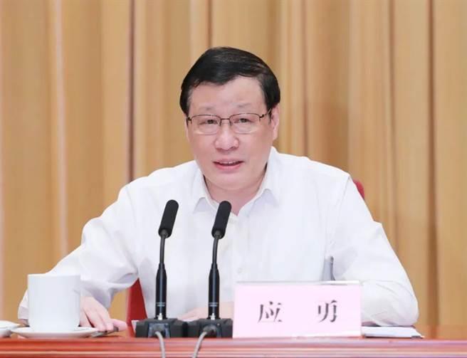 湖北省委書記、省疫情防控指揮部指揮長應勇。(中新社)
