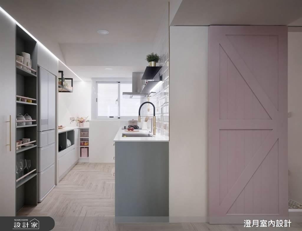 你今天「自煮管理」了嗎? 料理初學者也能「輕鬆做煮」的餐廚空間設計心法。(圖/設計家Searchome)