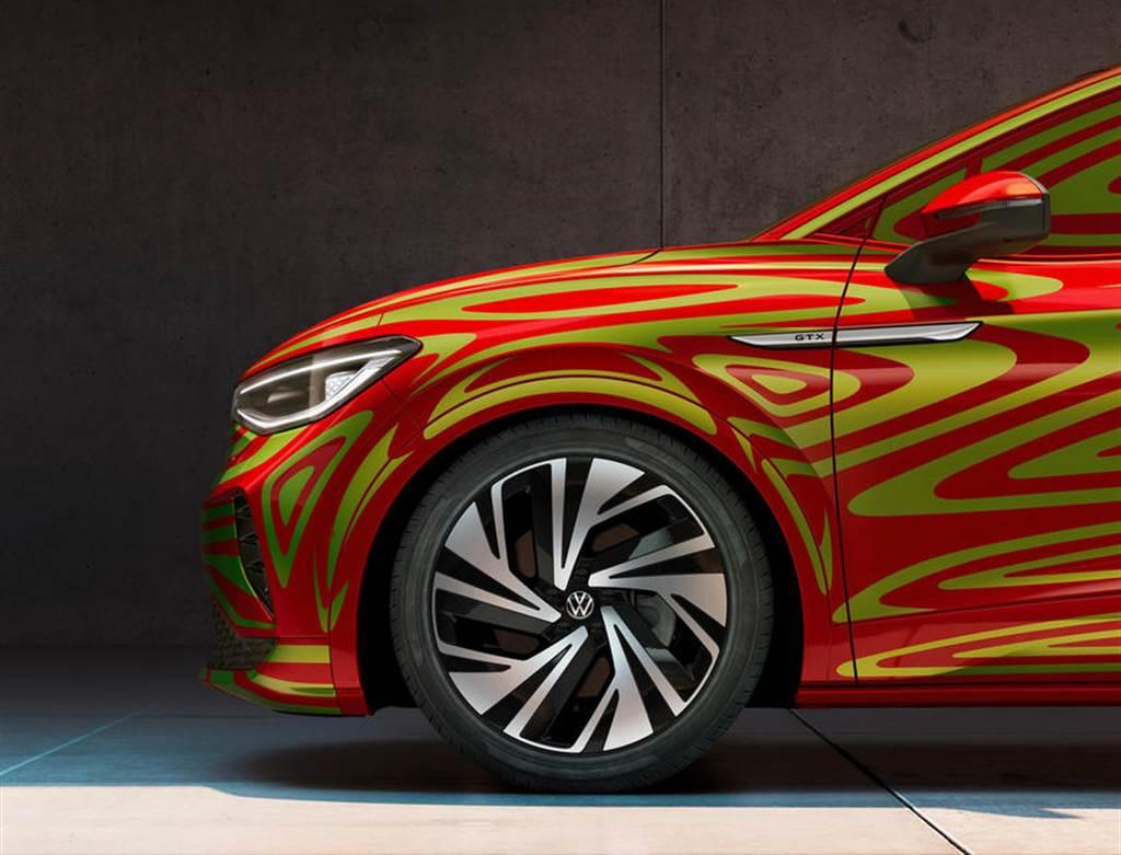 有 GTX 性能車型:福斯 ID.5 電動跑旅 IAA 車展可望首度亮相(圖/DDCar)