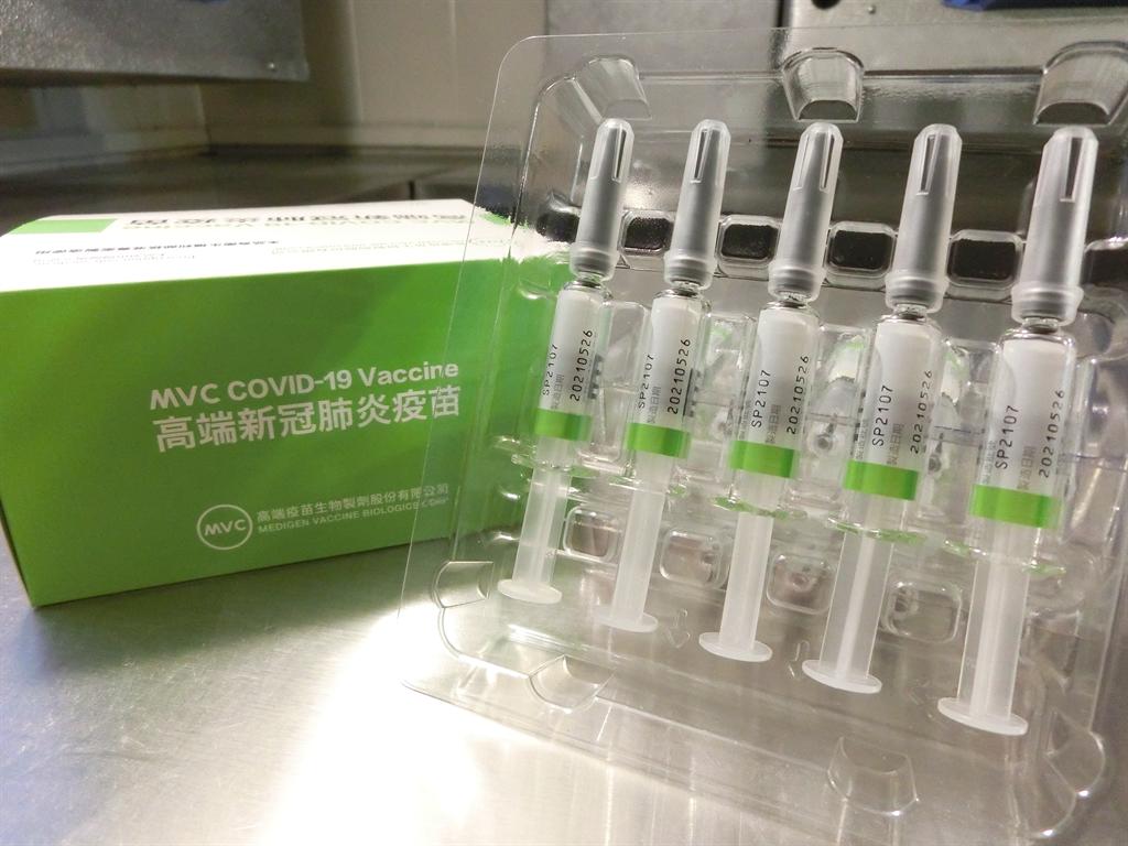高端疫苗罕見副作用為顏面神經麻痺、眼壓過高,對此莊人祥則回應,是否與疫苗有關,仍需要了解。(圖/食藥署提供)