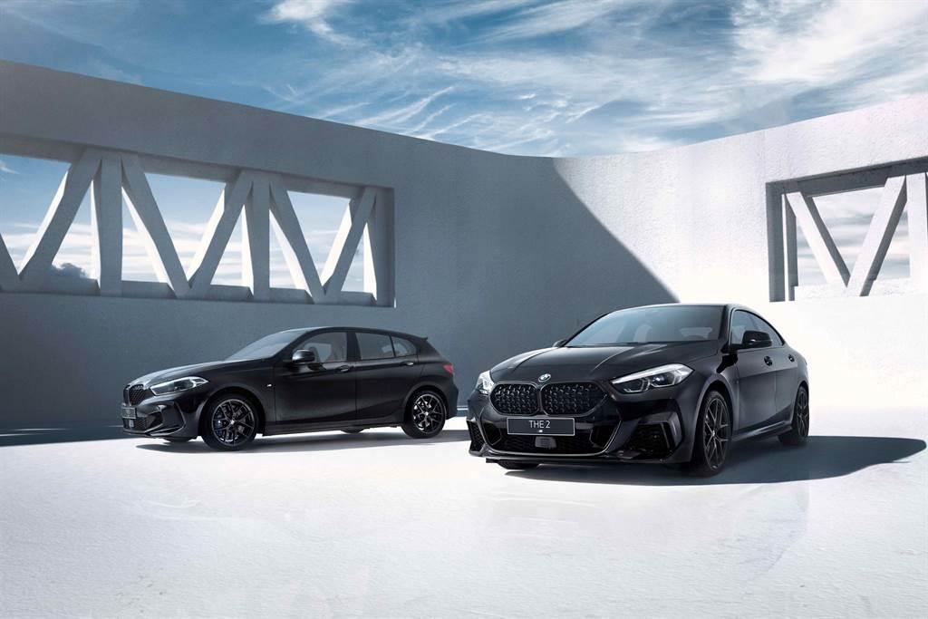 全新BMW M135i / M235i Black Storm Edition限量登台。(圖/BMW提供)