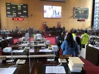 台中市議會今天復會   每次議員最多只10人在議事堂