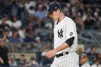 MLB》無愧「爆爆王」稱號 洋基新投手4局挨4轟慘烈吞敗