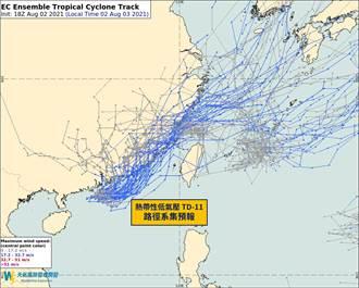 「盧碧」颱風一生成就恐同步發警報 專家:這地區風雨令人擔心