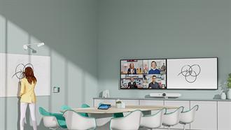 視訊會議靠它+1<br>互動更順暢