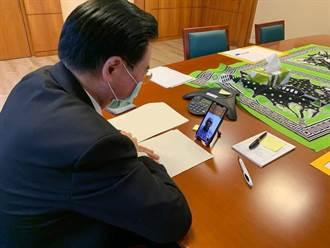 吳釗燮視訊聖露西亞新任總理 邀請疫情後訪台