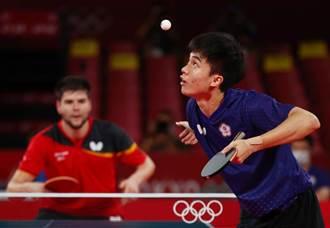 東奧》2比3惜敗德國 中華隊無緣桌球男團4強