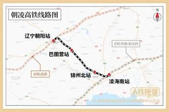 時速350公里朝凌高鐵今開通 大連至北京4小時
