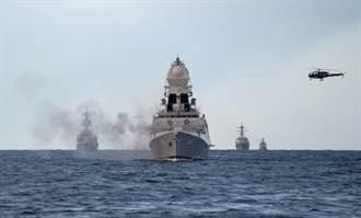 南海好緊張 德國插花 印度艦隊也要來