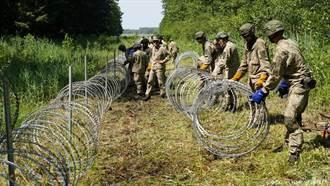 立陶宛嚴查邊境 拒絕白羅斯非法移民闖入