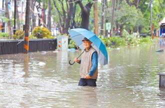 雲嘉強降雨淹水 曾文水庫今洩洪