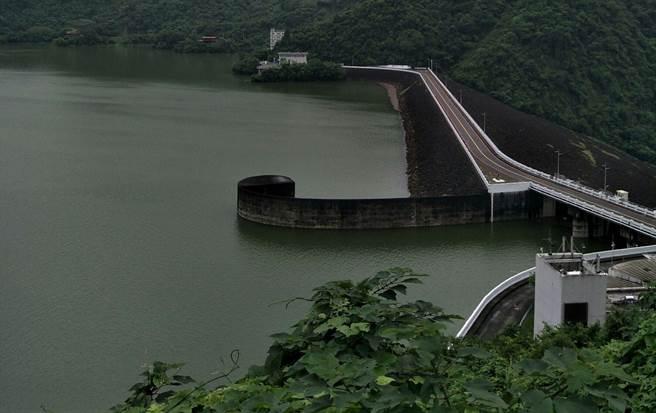 曾文水庫蓄水破90%,預估3日12點洩洪。(南水局提供/劉秀芬台南傳真)