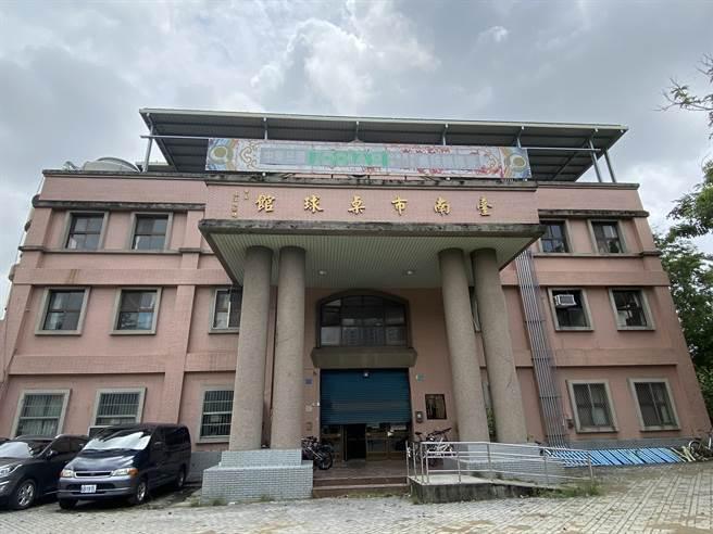 台南市桌球館外觀。(曹婷婷攝)