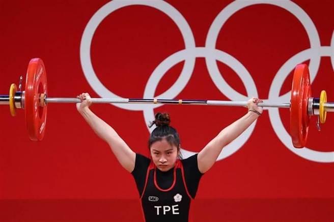 來自台南市,阿里山鄉鄒族舉重選手方莞靈奪東奧第4名。(路透/資料照)