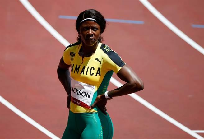 牙買加女飛人謝芮卡奪下東奧100公尺銅牌,沒想到卻在200公尺預賽遭到淘汰。(路透/資料照)