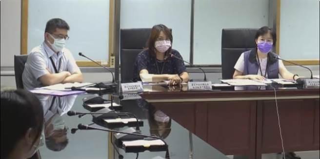北市衛生局舉辦記者會說明台北市新增個案。(摘自北市衛生局記者會)