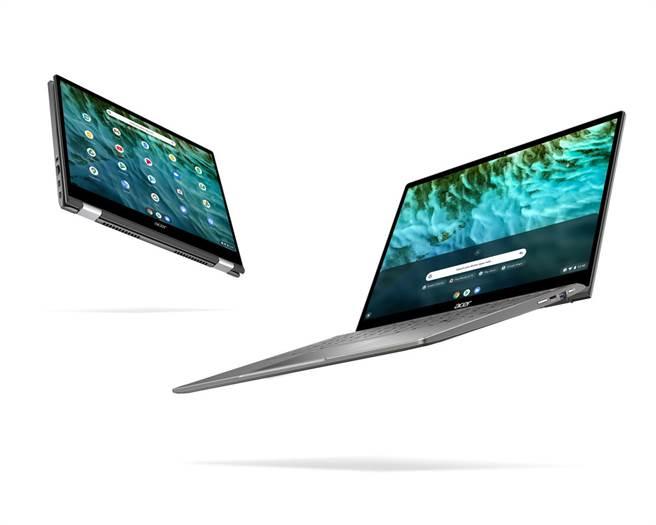 Acer Chromebook Spin 713。(Acer提供/黃慧雯台北傳真)