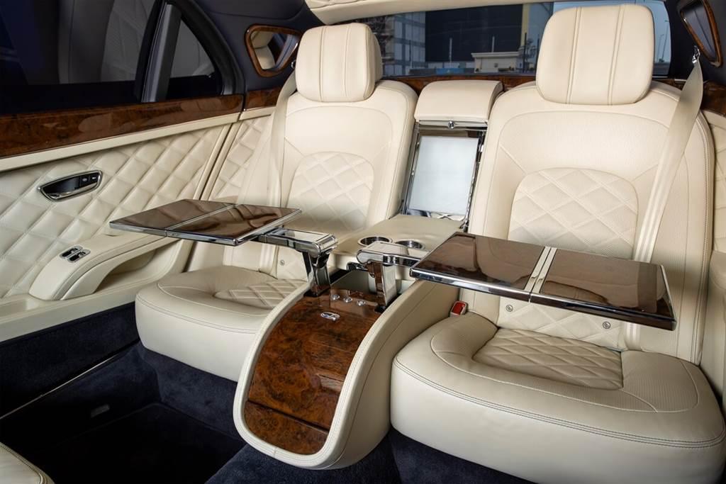 耗時六年,全球僅五輛!Bentley Mulsanne Grand Limousine by Mulliner亮相(圖/CarStuff)