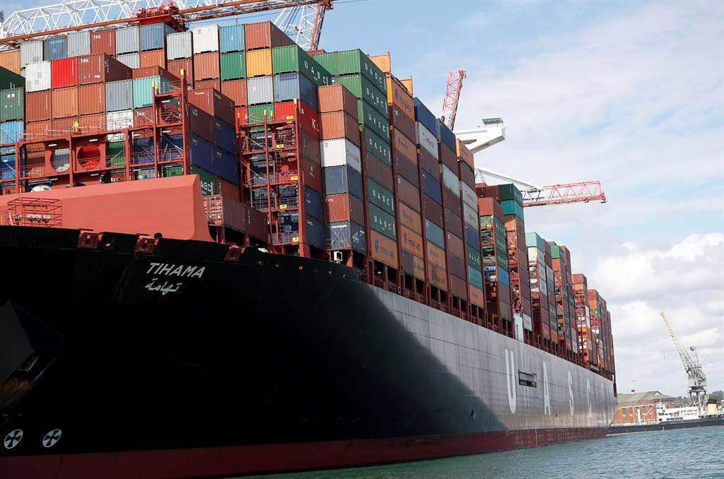 航運市場壅塞讓跨國企業的運輸成本增加。(示意圖/路透社)