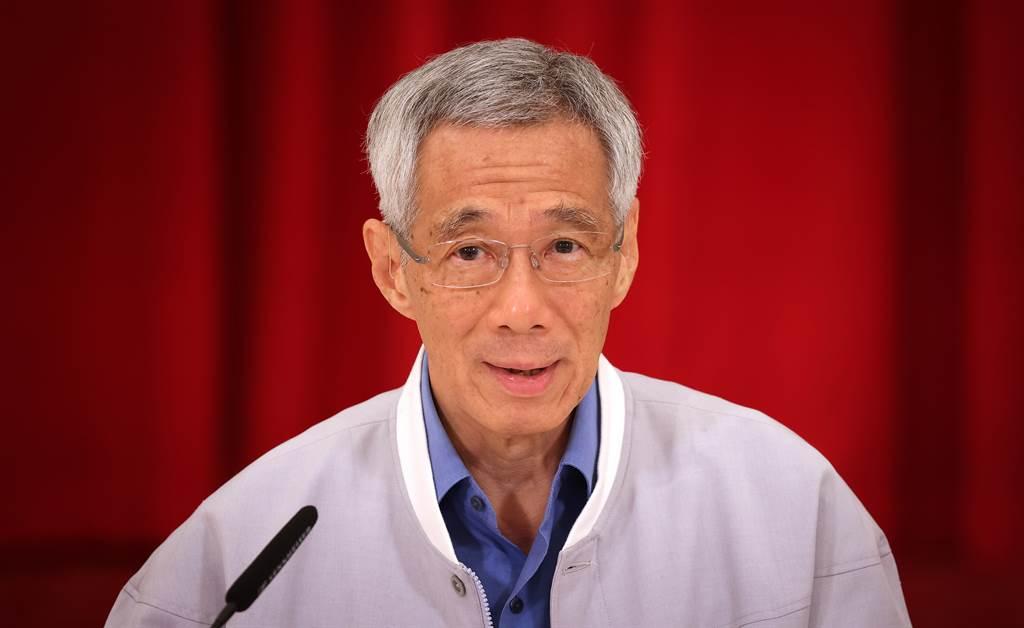 新加坡總理李顯龍。(資料照/中央社 )