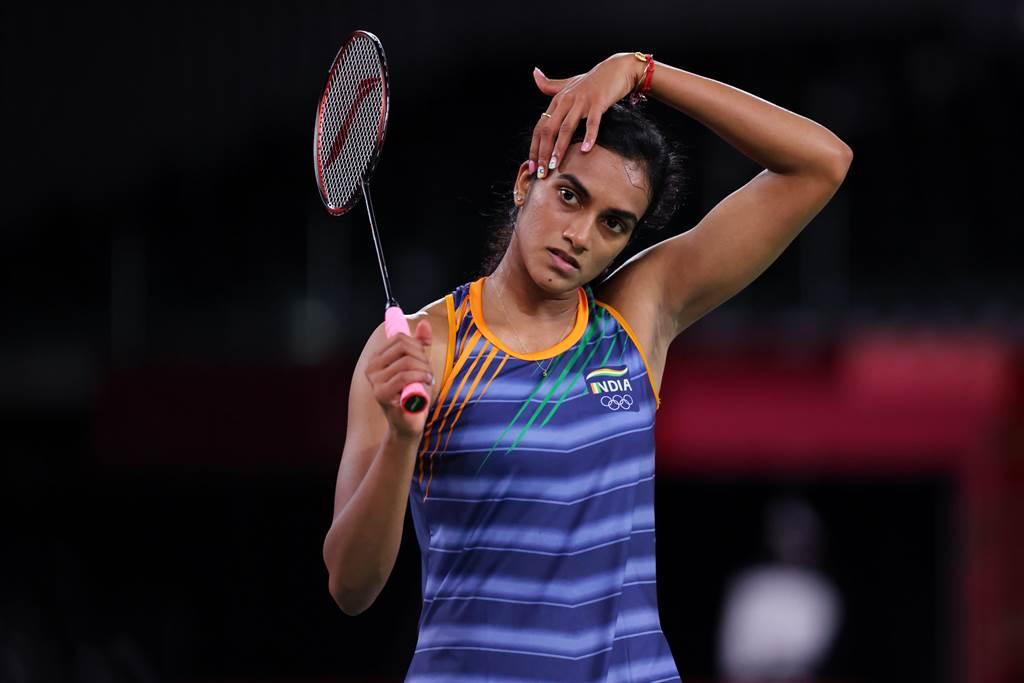 印度羽球一姐辛度今年東奧女子單打摘銅。(圖/達志)