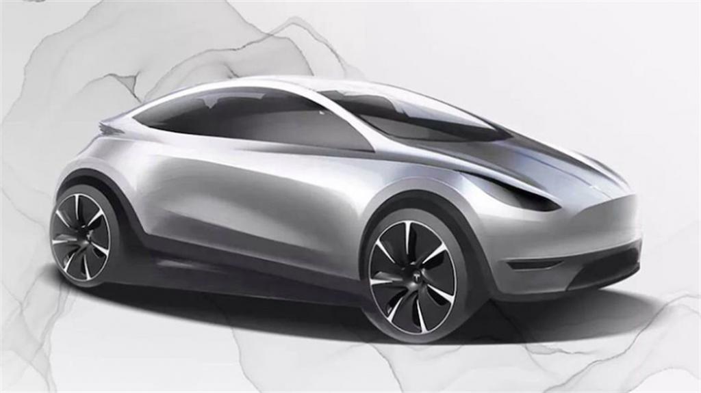中國特斯拉在招聘設計人才時,首度公布了中國大陸原創電動車的假想圖(圖/DDCar)