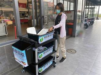 紙餐具回收10月1日上路!台南市20餘家便當店未設回收架