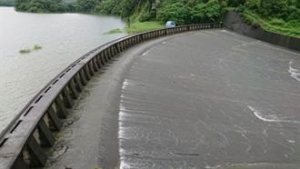 西南氣流挾豪雨!烏山水庫滿庫溢流 3年來首次