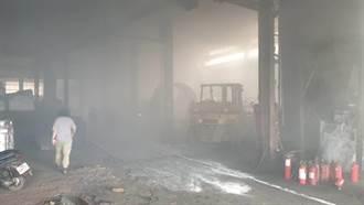台南山上區工廠火警  2員工受傷