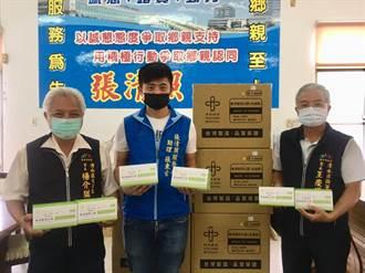 防範疫情口罩不可少 中市議長送3萬片顧民眾健康