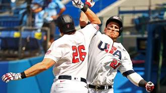 東奧》美國擊敗多明尼加 再1勝將闖棒球金牌戰