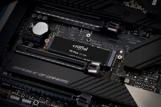 打造高速儲存體驗 美光推出Crucial P5 Plus PCIe Gen4 SSD