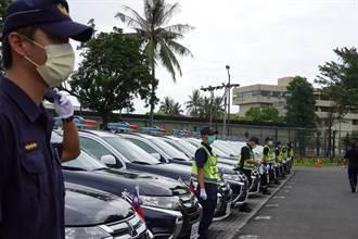台東縣警察局台東分局 4日舉行落成啟用典禮