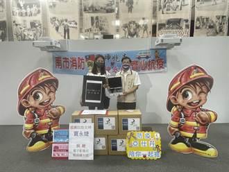 抗疫女神再送救命裝備 賈永婕捐8組影像式喉頭鏡給台南