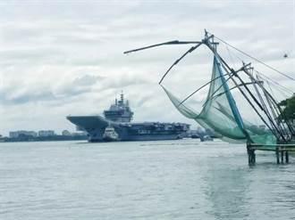 12年磨1艦 印度海軍維克蘭號航空母艦終於出海