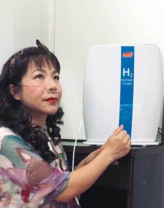 台灣美百氫氧機 經測試有助人體保健