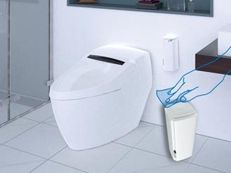 和成衛浴超級馬桶 強調有效抗菌