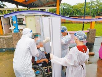 板橋某醫院爆群聚感染 10人確診