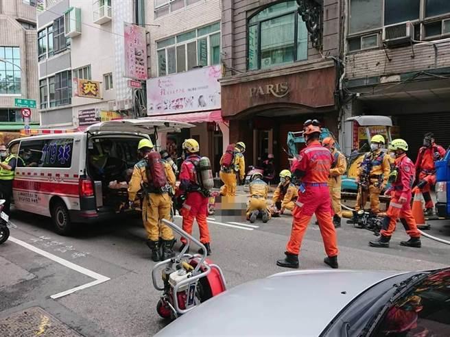 台中市中區發生五名工人昏迷送醫公安事件,勞工局勒令停工之外,對於違反《職業安全衛生法》將處3萬元以上、30萬元以下之罰鍰。(民眾提供/盧金足台中傳真)