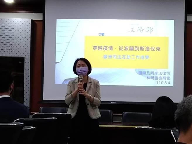 法務部國兩司代理司長汪南均(陳志賢攝)