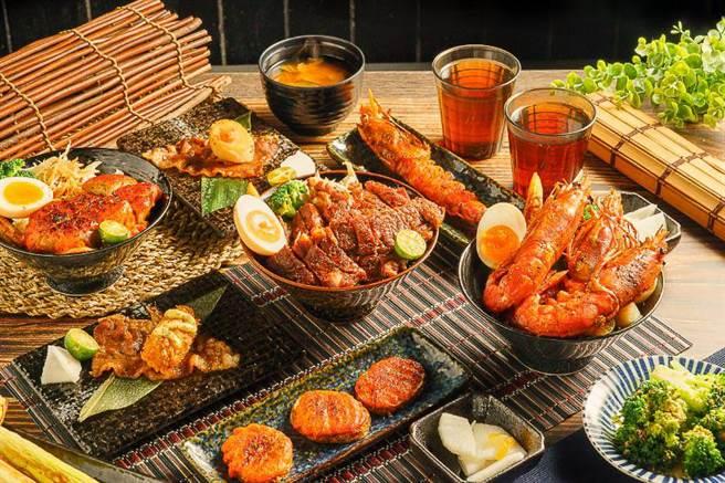 大葉髙島屋的禪日本料理推出歡慶88節四人餐,原價6563元,特價5250元。(大葉髙島屋提供)