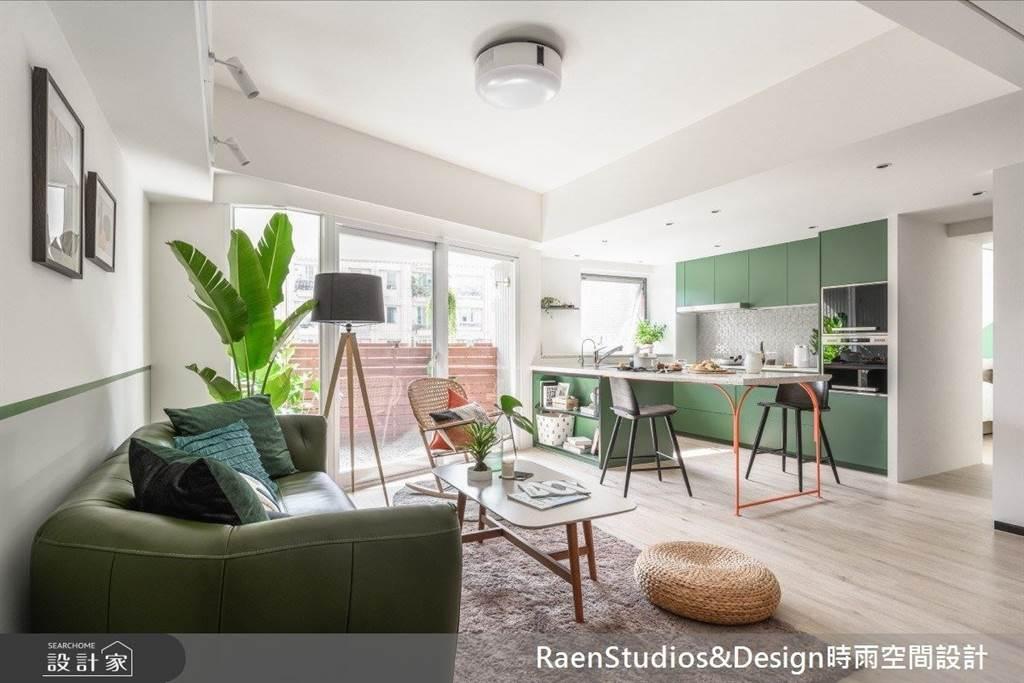 超前部署的都市老公寓!5 種戶外陽台完美改造,宅在家也可以曬日光浴。(圖/設計家)